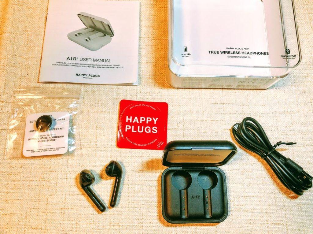 Happy Plugs air1(ワイヤレスイヤホン)の体験談レビュー