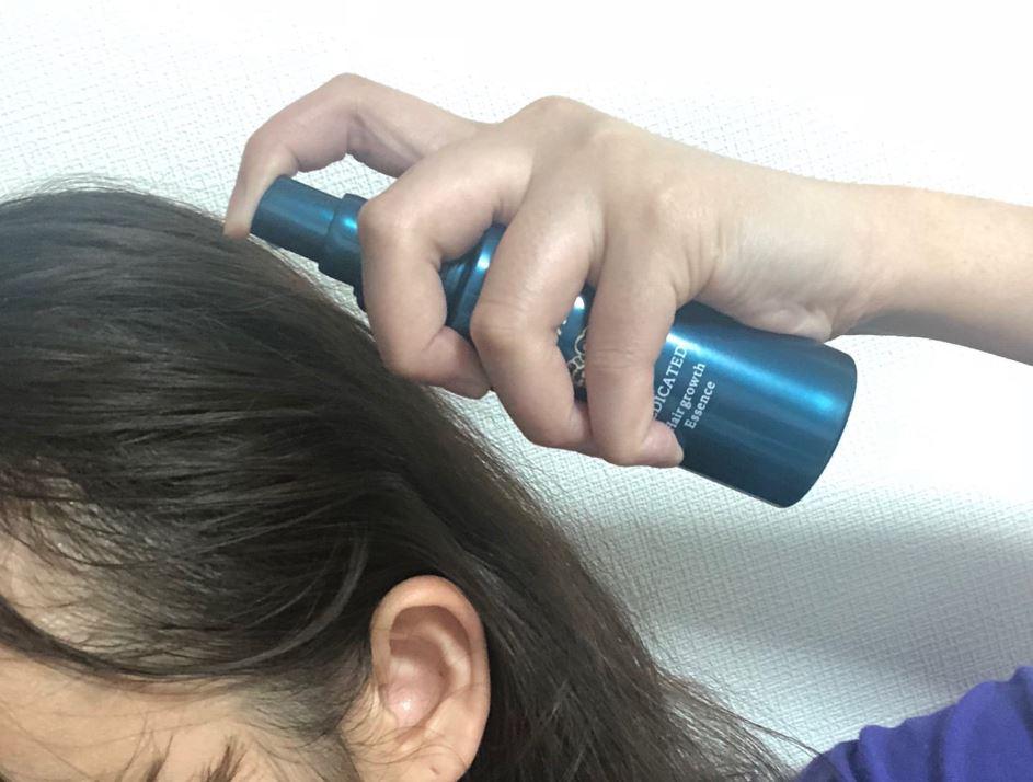 ニューモ育毛剤の使い方