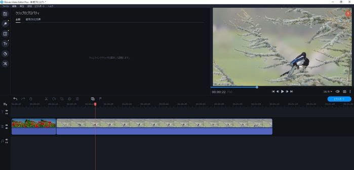 ビデオエディター