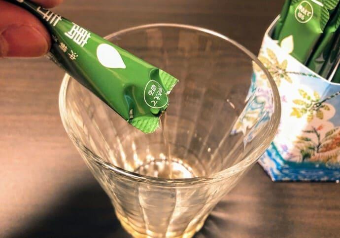 萬寿のしずく 飲み方
