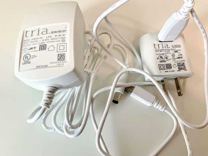 トリア・パーソナルレーザー脱毛器4Xの充電と使い方